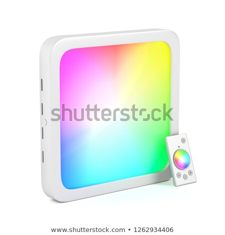 Led panel with changeable light colors Stock photo © magraphics