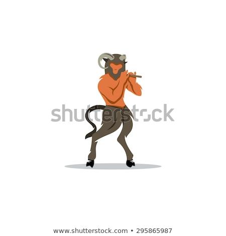 rajz · lény · ötlet · illusztráció · hal · férfi - stock fotó © cthoman