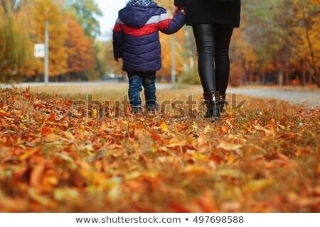 moeders · zorg · pasgeboren · baby · hand · houden - stockfoto © galitskaya