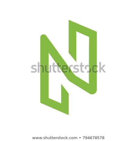 zincir · logo · sikke · pazar · amblem - stok fotoğraf © tashatuvango