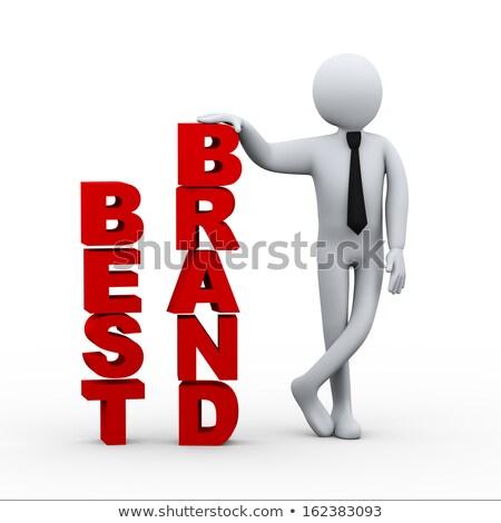 3d businessman best brand presentation stock photo © ribah
