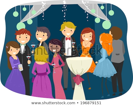 Stickman Teen Guy Night School Illustration Stock photo © lenm