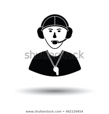 american football coach icon stock photo © angelp