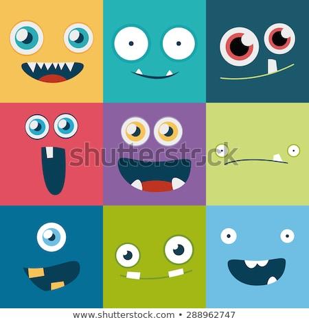 счастливым робота Cartoon комического характер иллюстрация Сток-фото © izakowski