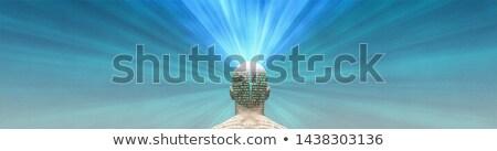 szó · illusztráció · 3D · renderelt · üzlet · háttér - stock fotó © spectral
