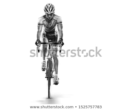Sport athlete cyclist Stock photo © jossdiim