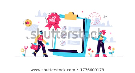 Standard for quality control concept vector illustration Stock photo © RAStudio