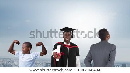 Mężczyzn wiek pokolenia rozwój w górę miasta Zdjęcia stock © wavebreak_media