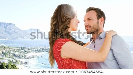 Couple flare composite numérique Photo stock © wavebreak_media