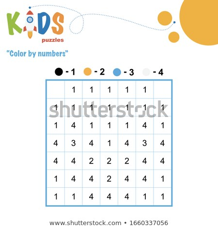 maths subtraction educational task for children Stock photo © izakowski