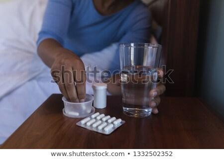 старший афроамериканец женщину медицина Сток-фото © wavebreak_media