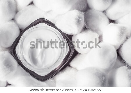 lusso · crema · per · il · viso · delicato · pelle · bianco · cotone - foto d'archivio © anneleven