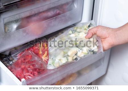 冷凍庫 食品 ホーム 技術 背景 キッチン ストックフォト © Mark01987