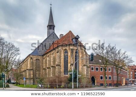Apostolic Church, Munster, Germany Stock photo © borisb17