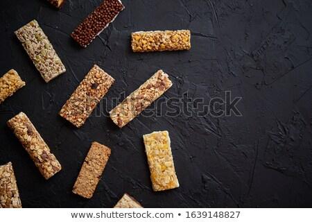 Sabor sabor granola fitness bares Foto stock © dash