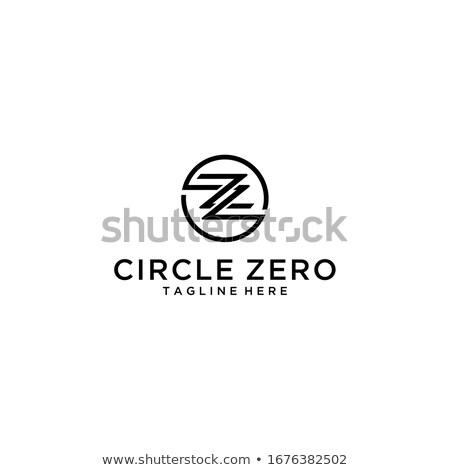 минимальный современных геометрический письме дизайн логотипа треугольник Сток-фото © kyryloff