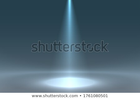 spotlight focus from above on the floor background Stock photo © SArts