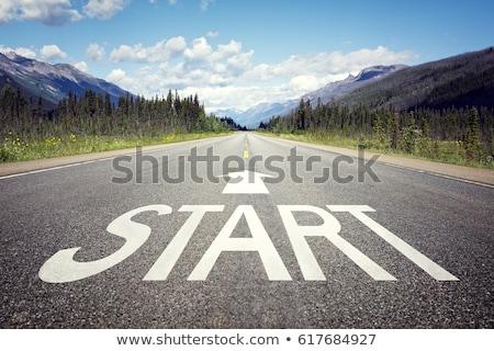 новых · начала · улице · подписать · высокий · разрешение · графических - Сток-фото © kbuntu