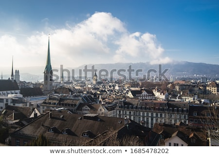 steeple at cloudy sky Stock photo © sahua