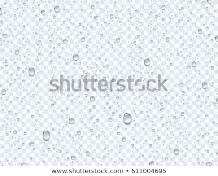 Gouttes gouttes d'eau eau transparence table mur Photo stock © christina_yakovl