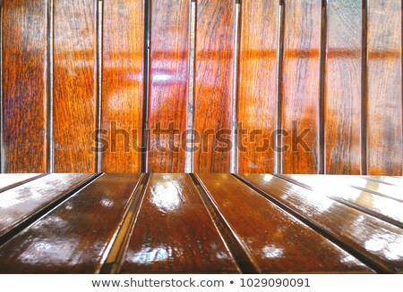 Texture of old varnish wood with space for text. Stock photo © pashabo
