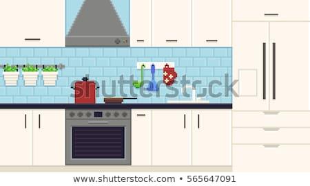 kitchen 8 stock photo © Paha_L