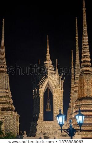 Detalles histórico pagoda típico China fondo Foto stock © bbbar