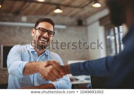 negócio · sucesso · gestão · equipe · gerente · símbolo - foto stock © johanh