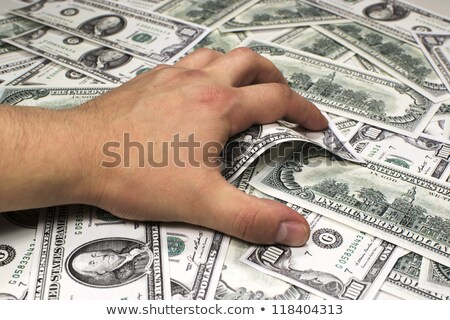 Armed robber with note. Stock photo © RTimages