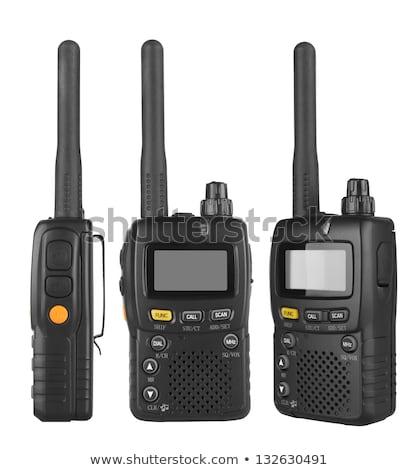 walkie-talkie. Isolated on white Stock photo © ozaiachin