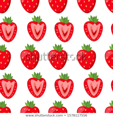 Strawberry cutie. Stock photo © lithian