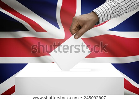 Сток-фото: Ballot Box Great Britain