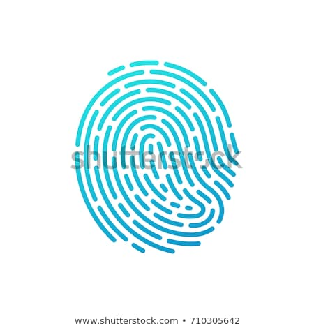 dedo · impresión · policía · información · personal · identidad - foto stock © wavebreak_media
