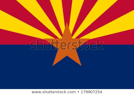 flag of arizona stock photo © joggi2002