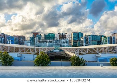 リスボン 現代 ポルトガル 車 市 橋 ストックフォト © dinozzaver