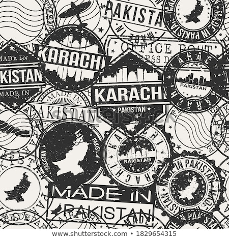 Post stamp from Pakistan Stock photo © Taigi