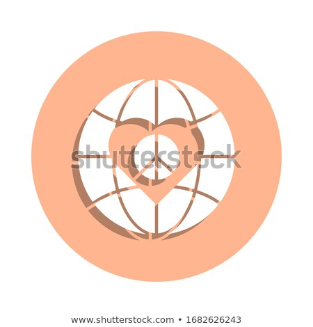 Charity Concept on Orange Puzzle. Stock photo © tashatuvango