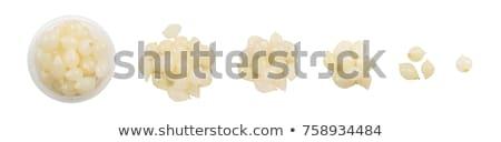 Parel uien augurken plaat groenten plantaardige Stockfoto © courtyardpix
