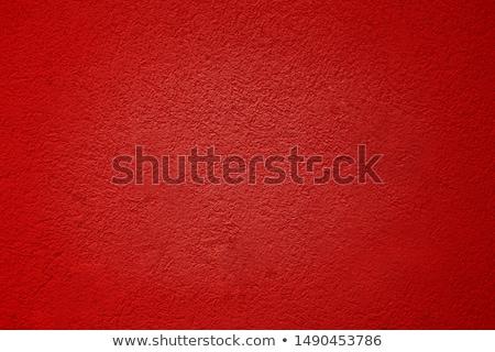гранж текстур красный цемент стены дизайна краской Сток-фото © meinzahn