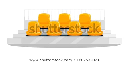 colorful stadium seats stock photo © silense