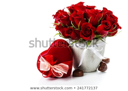 Valentine Rose Box Stock photo © songbird