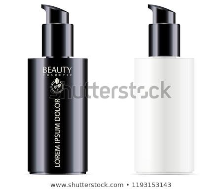 Black bottle of concealer Stock photo © cherezoff