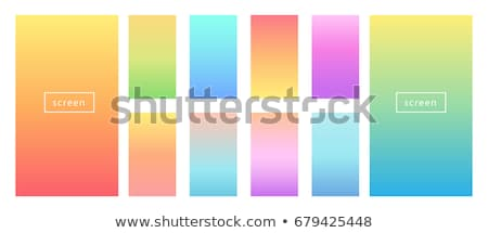 blue and yellow gradient background Stock photo © Kheat