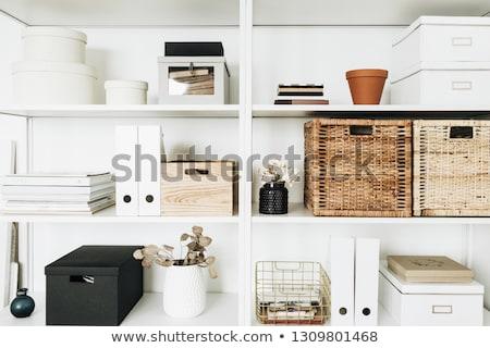 Storage boxes Stock photo © gemenacom