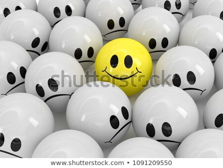 mosoly · szürke · tömeg · arc · megbeszélés · csoport - stock fotó © limbi007