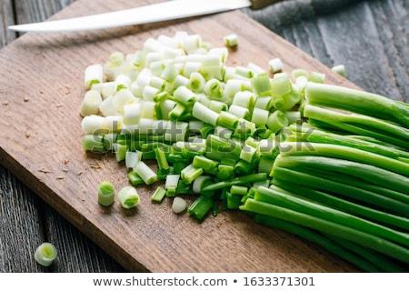 Vers geïsoleerd witte voedsel blad vruchten Stockfoto © gemenacom