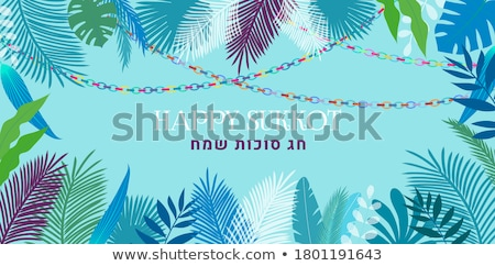 Sukkah For Sukkot Stock photo © LironPeer