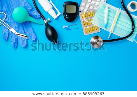 糖尿病患者 · テスト · キット · 医師 · 医療 · 血液 - ストックフォト © simpson33
