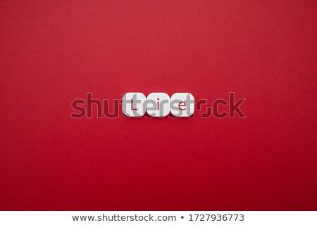 этический · руководство · слово · облако · красный · баннер · изображение - Сток-фото © tang90246