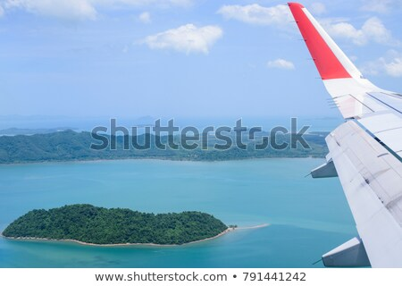 View blue sky over the Andaman Sea in Phuket, Thailand Stock photo © Yongkiet